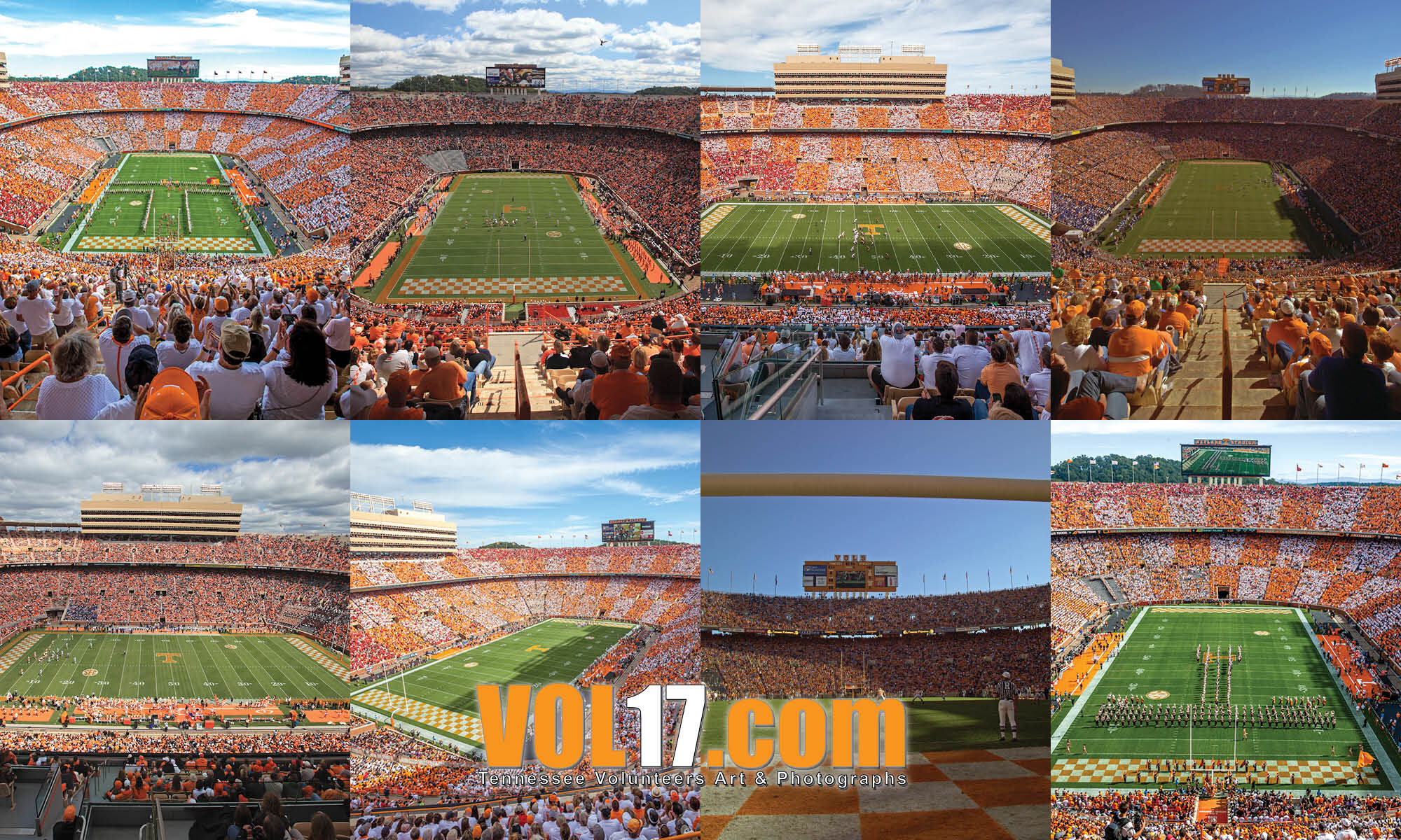 Neyland Stadium photos by Phil Reich