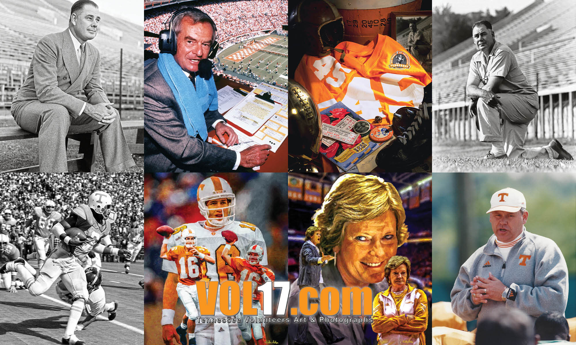 VOL17.com Tennessee Volunteers Legends