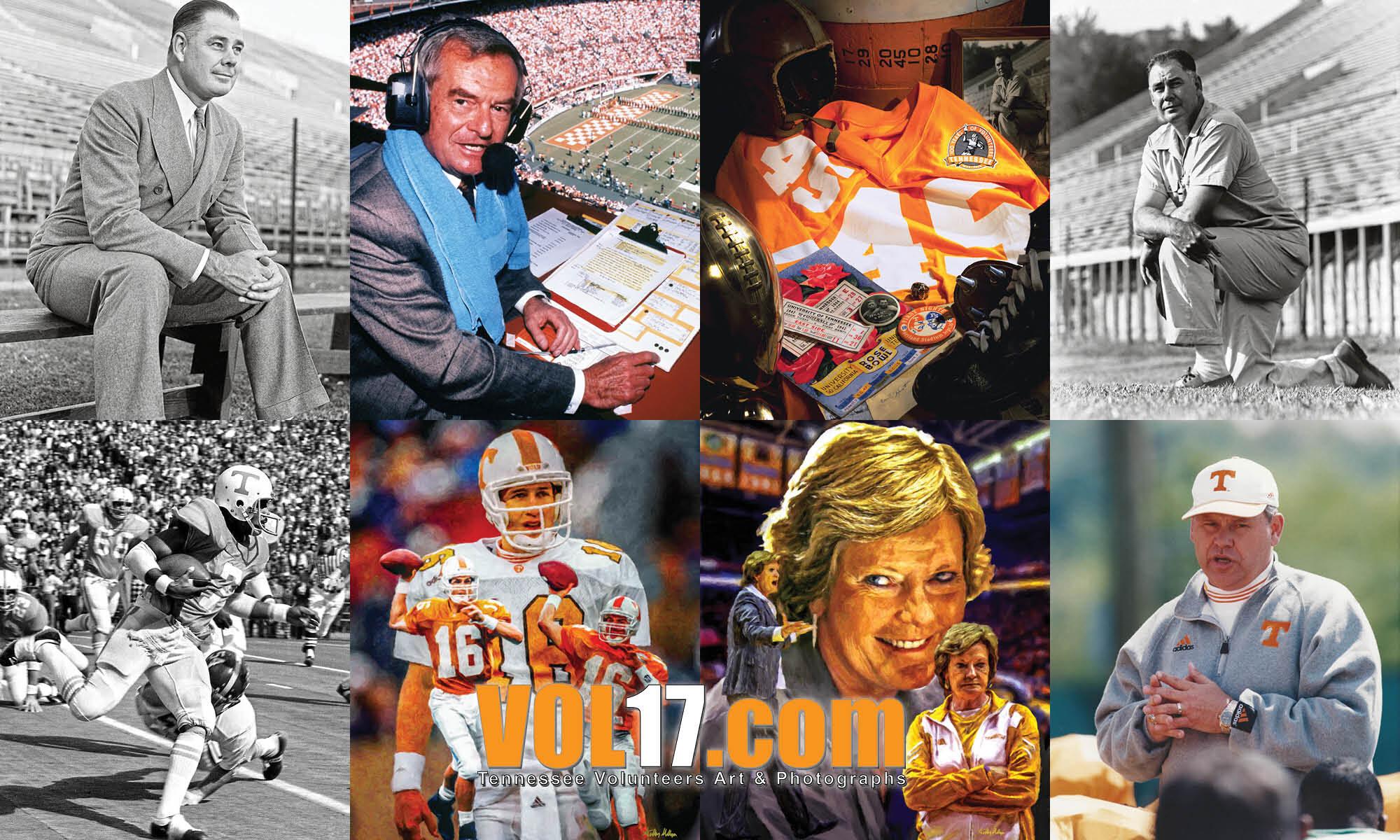 VOL17.com Tennessee Volunteers Legends